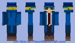 Zhozhen(Detective) Minecraft Skin