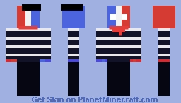 Countryhumans France Minecraft Skin