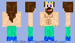Merman Minecraft Skin