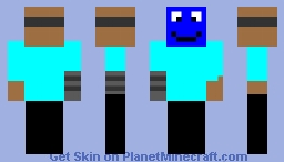 ro9bo man Minecraft Skin