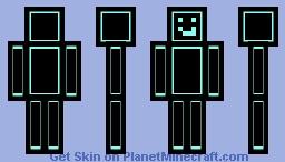 [neon] Minecraft Skin