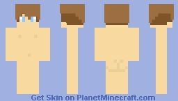 Boy Skin Template Not Meant To Be A Naked Skin Read Description Minecraft Skin