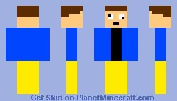 karlson milkman Minecraft Skin