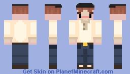 Lennie (of mice and men) Minecraft Skin