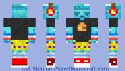 Diamond Dave Minecraft Skin