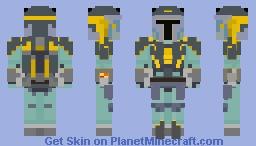 Almec Mandalorian Armor (Clone Wars) 2.0 Minecraft Skin