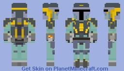 Almec Mandalorian Armor (Clone Wars) Minecraft Skin