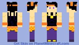 Narancia Ghirga (Jojo's Bizarre Adventure: Golden Wind/Vento Aurero) Minecraft Skin
