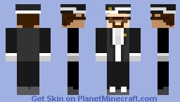Coffin Dance Steve Minecraft Skin