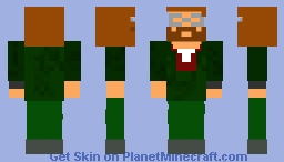 ned from zombicide Minecraft Skin