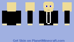 or would you rather have this stonks guy Minecraft Skin