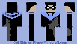 Nightwing - The New Batman Adventures Minecraft Skin