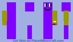 Beanos with gauntlet Minecraft Skin