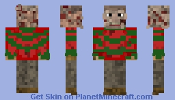Part 3 Freddy Krueger A Nightmare on Elm Street The Dream Warriors Minecraft Skin
