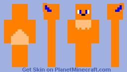 Solarflare the Flareon Minecraft Skin