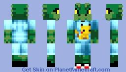 Holy Dragon Loves Pikachu! (Hypixel Skyblock) Minecraft Skin
