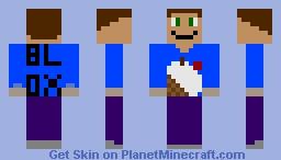 Blox Cafe  Worker Minecraft Skin