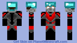 Herobrine Warrior Minecraft Skin