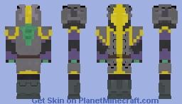 Black Sun Warrior Minecraft Skin