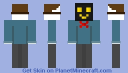 Masked Guy Minecraft Skin