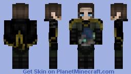 Hɪɢɢs Mᴏɴᴀɢʜᴀɴ 『 Dᴇᴀᴛʜ Sᴛʀᴀɴᴅɪɴɢ 』 Minecraft Skin