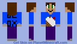Blox Cafe Worker 2 Minecraft Skin