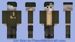 William Overbeck (Bill) (L4D) Minecraft Skin