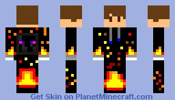 Fire Boy Minecraft Skin