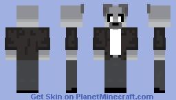 Wolf_with_Scarf remake Minecraft Skin