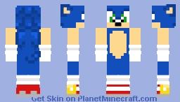 Sonic the Hedgehog [re-upload] Minecraft Skin