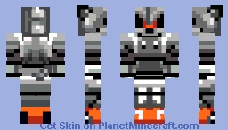 "Mecha Sonic (Sonic 2) (""Silver Sonic"") Minecraft Skin"