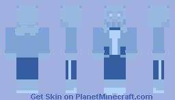 sans, sans anything other than blue. Minecraft Skin