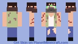 Universal Studios Halloween Horror Nights: Eddie Schmidt Minecraft Skin
