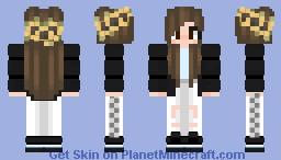 Sunflower Girl Minecraft Skin