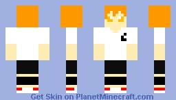 Hinata Shoyo (Haikyu!!) Minecraft Skin
