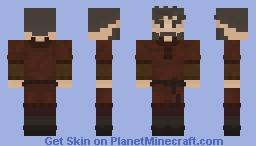 Anglo-Saxon Farmer, No Birka Minecraft Skin