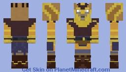 Zygerrian Captain Minecraft Skin