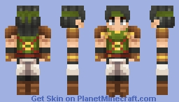Osian, Scolded Soldier - Fire Emblem: Thracia 776 Minecraft Skin
