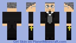 Universal Monsters: Professor Abraham Van Helsing Minecraft Skin