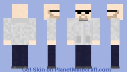Classified Draft 2 Minecraft Skin