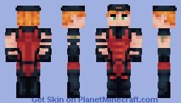 Arsenal | DC Rebirth | Roy Harper Minecraft Skin