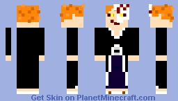 Bleach - Ichigo Kurosaki (Soul Society Arc, Bankai/Hollow) Minecraft Skin
