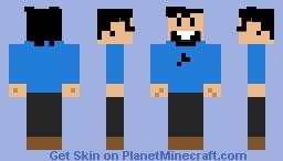 Captain Haddock Minecraft Skin