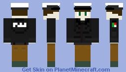West German North Rhine-Westphalia State Police (Landespolizei) Minecraft Skin