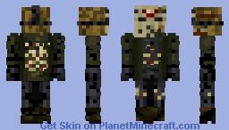 Jason Voorhees part 8 Jason Takes Manhattan Minecraft Skin