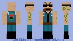 Vagos MC Biker (Request) Minecraft Skin