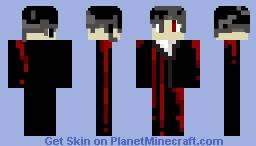 Phantom Black Minecraft Skin