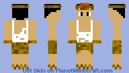 Egyptian Guy (Aztecs and Egyptians skin contest)