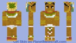 Cuauhtemoc (Aztec Warrior ) Minecraft Skin