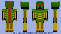 Monster Minecraft Skin